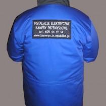 kurtka elektryk z haftem